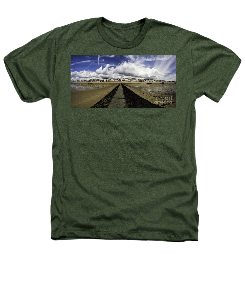 Southend On Sea Heathers T-Shirt featuring the photograph Southend On Sea Panorama by Sheila Smart Fine Art Photography