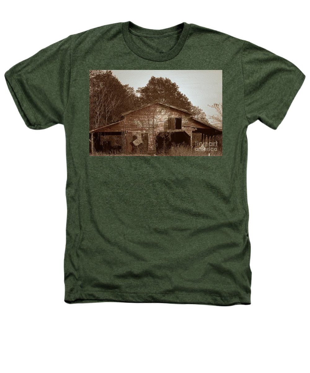Barn Heathers T-Shirt featuring the photograph Still Working by Amanda Barcon