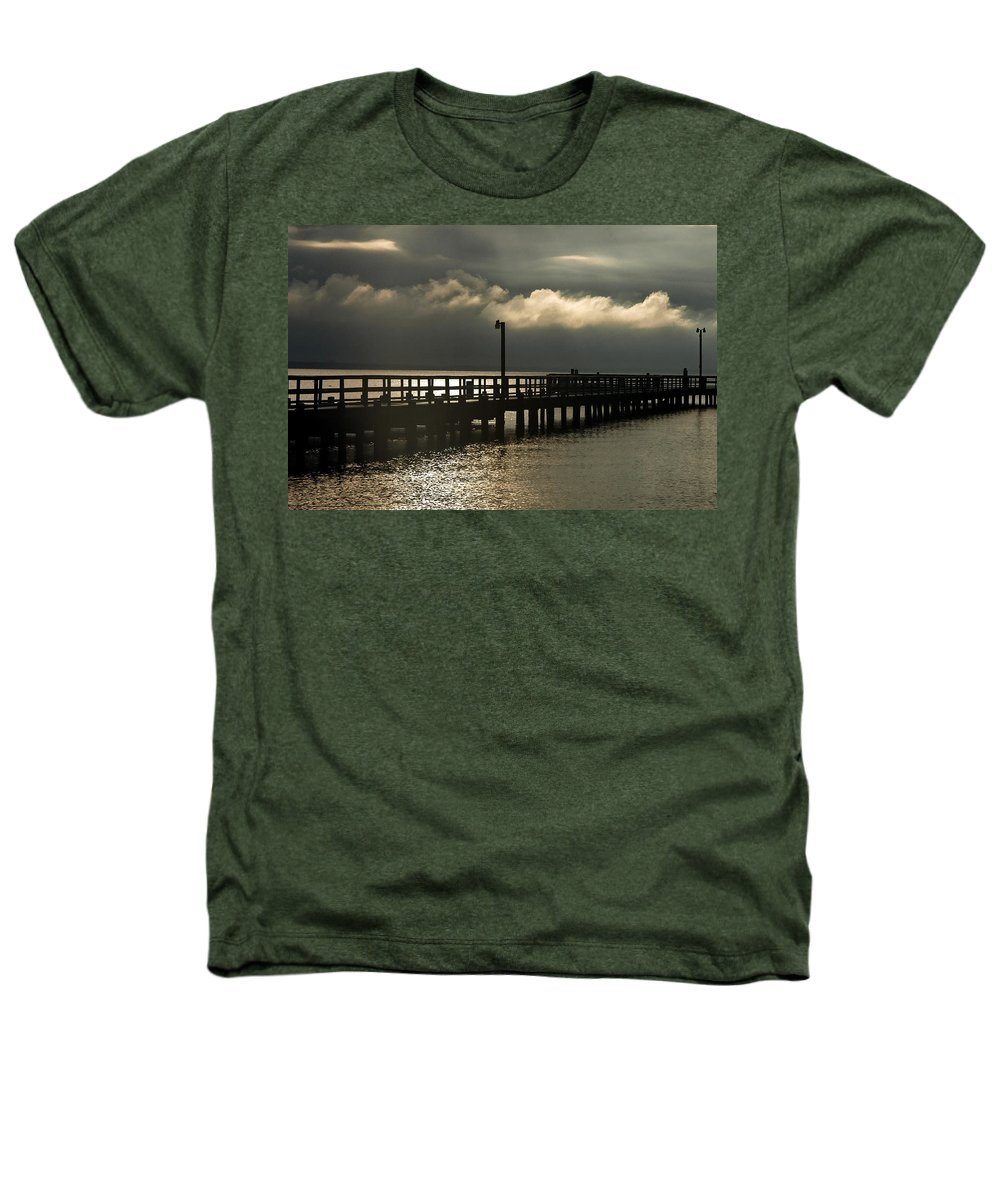Clay Heathers T-Shirt featuring the photograph Storms Brewin' by Clayton Bruster