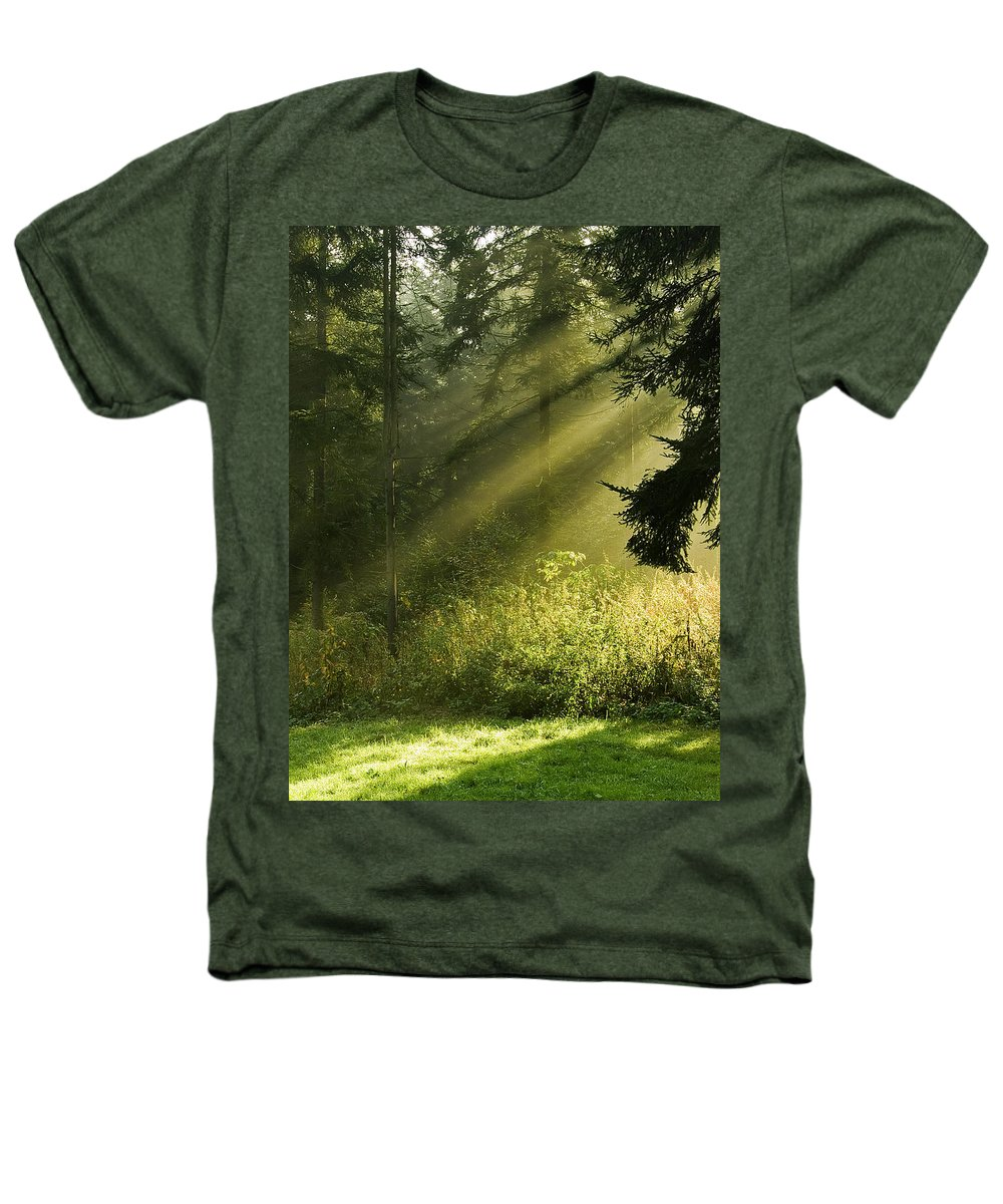 Nature Heathers T-Shirt featuring the photograph Sunlight by Daniel Csoka