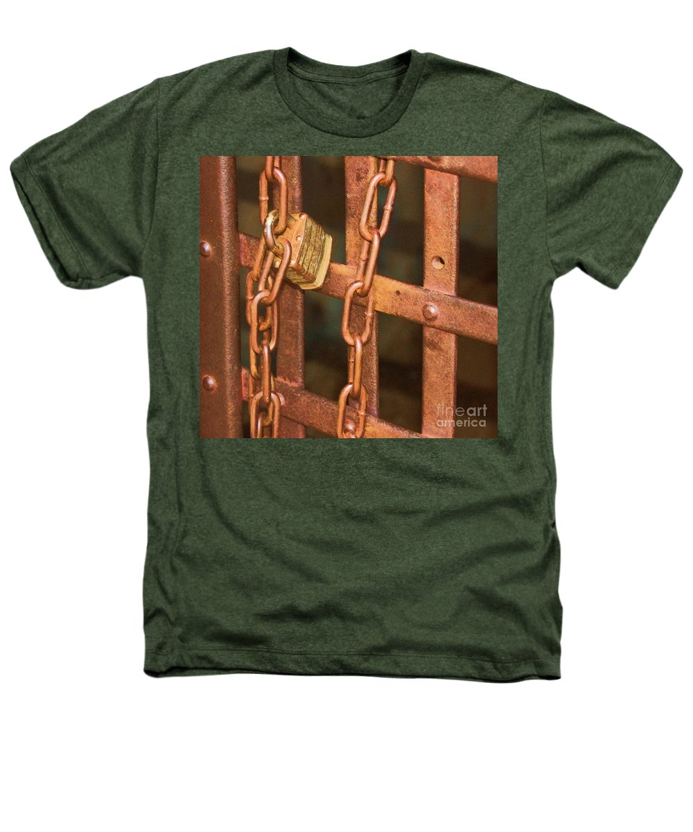 Metal Heathers T-Shirt featuring the photograph Tarnished Image by Debbi Granruth