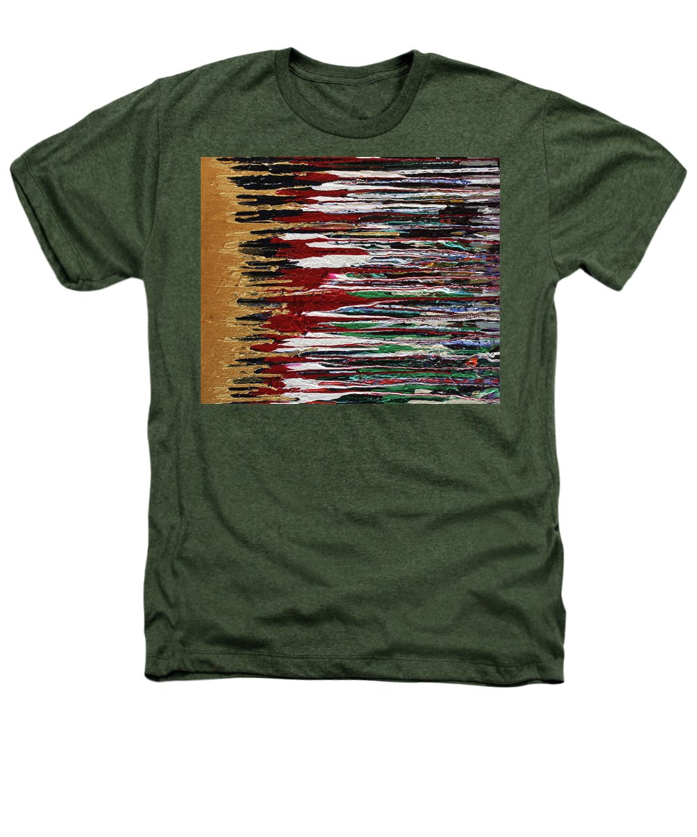 Fusionart Heathers T-Shirt featuring the painting Tears Of The Sun by Ralph White