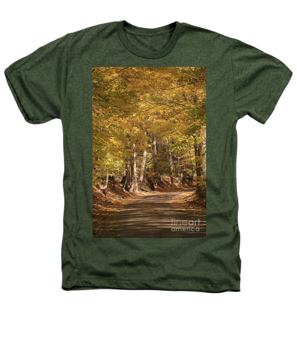 Golden Heathers T-Shirt featuring the photograph The Golden Road by Robert Pearson