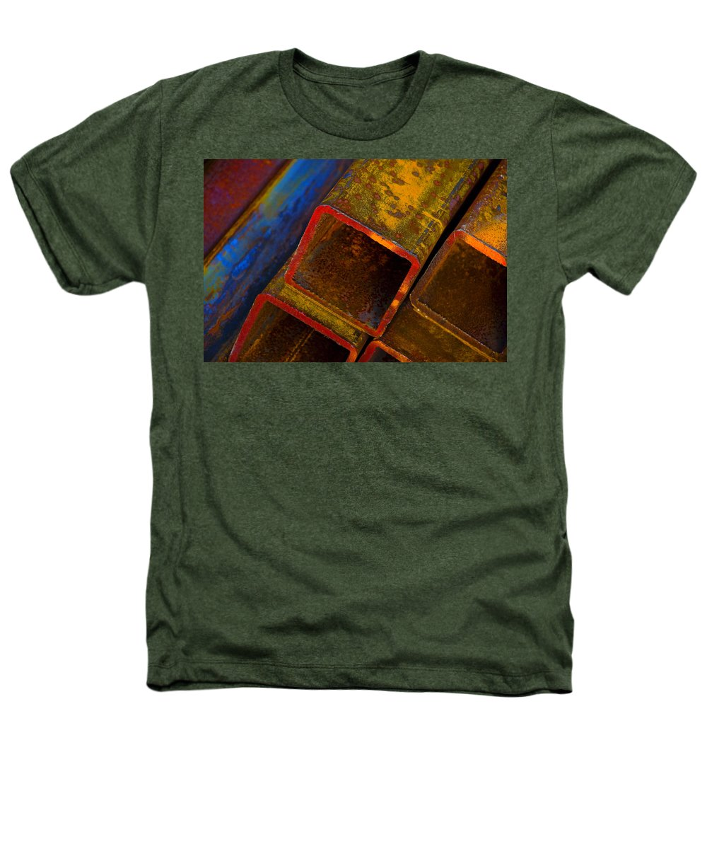 Abstract Heathers T-Shirt featuring the photograph The River by Skip Hunt