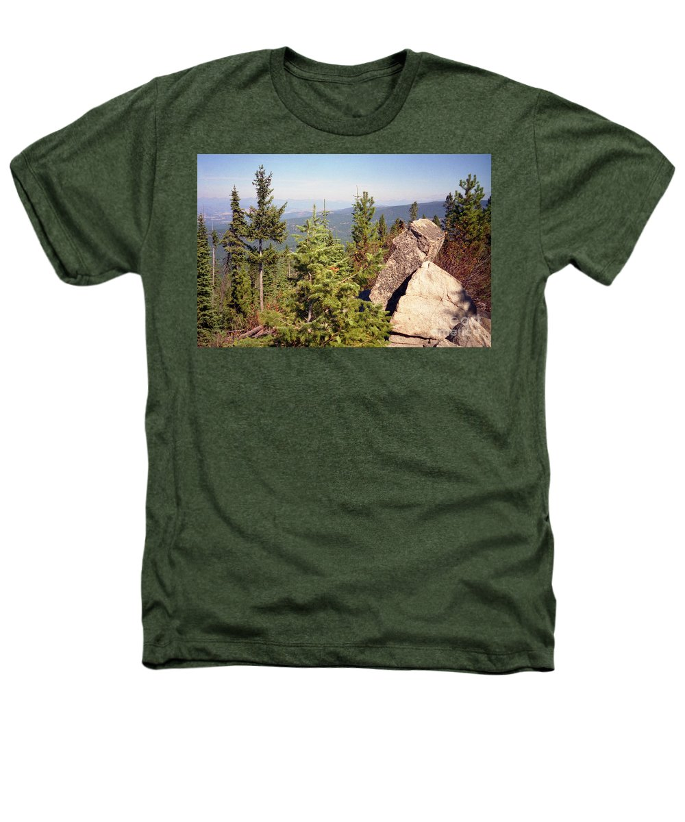 Landscapes Heathers T-Shirt featuring the photograph The Star Gazer by Richard Rizzo