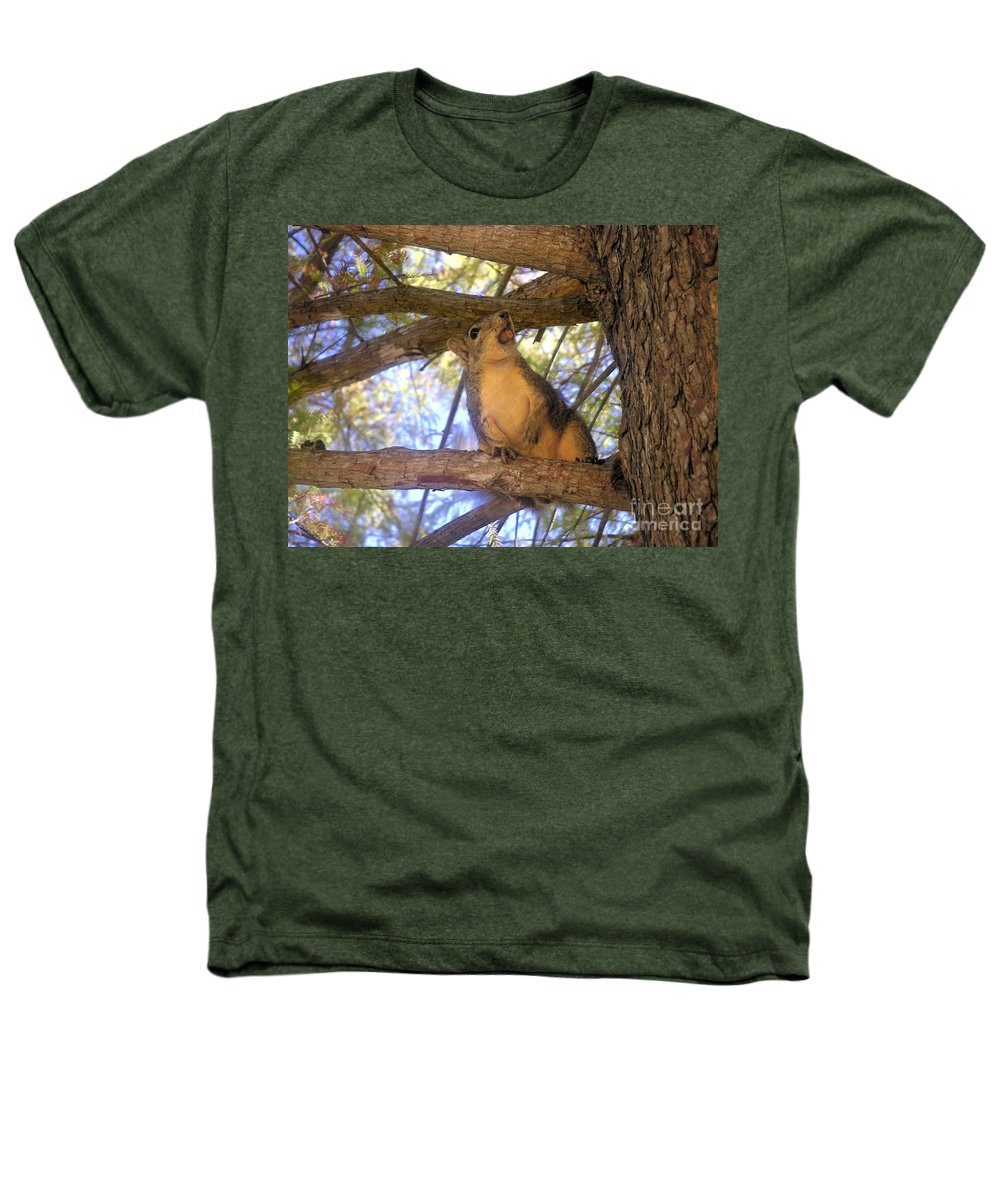 Nature Heathers T-Shirt featuring the photograph The Winner by Lucyna A M Green