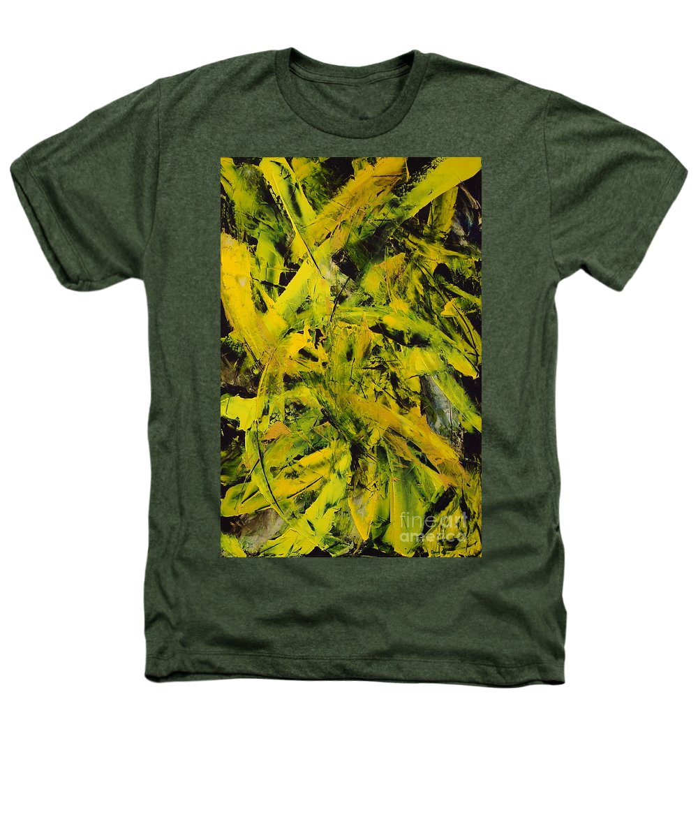 Abstract Heathers T-Shirt featuring the painting Transitions Vi by Dean Triolo