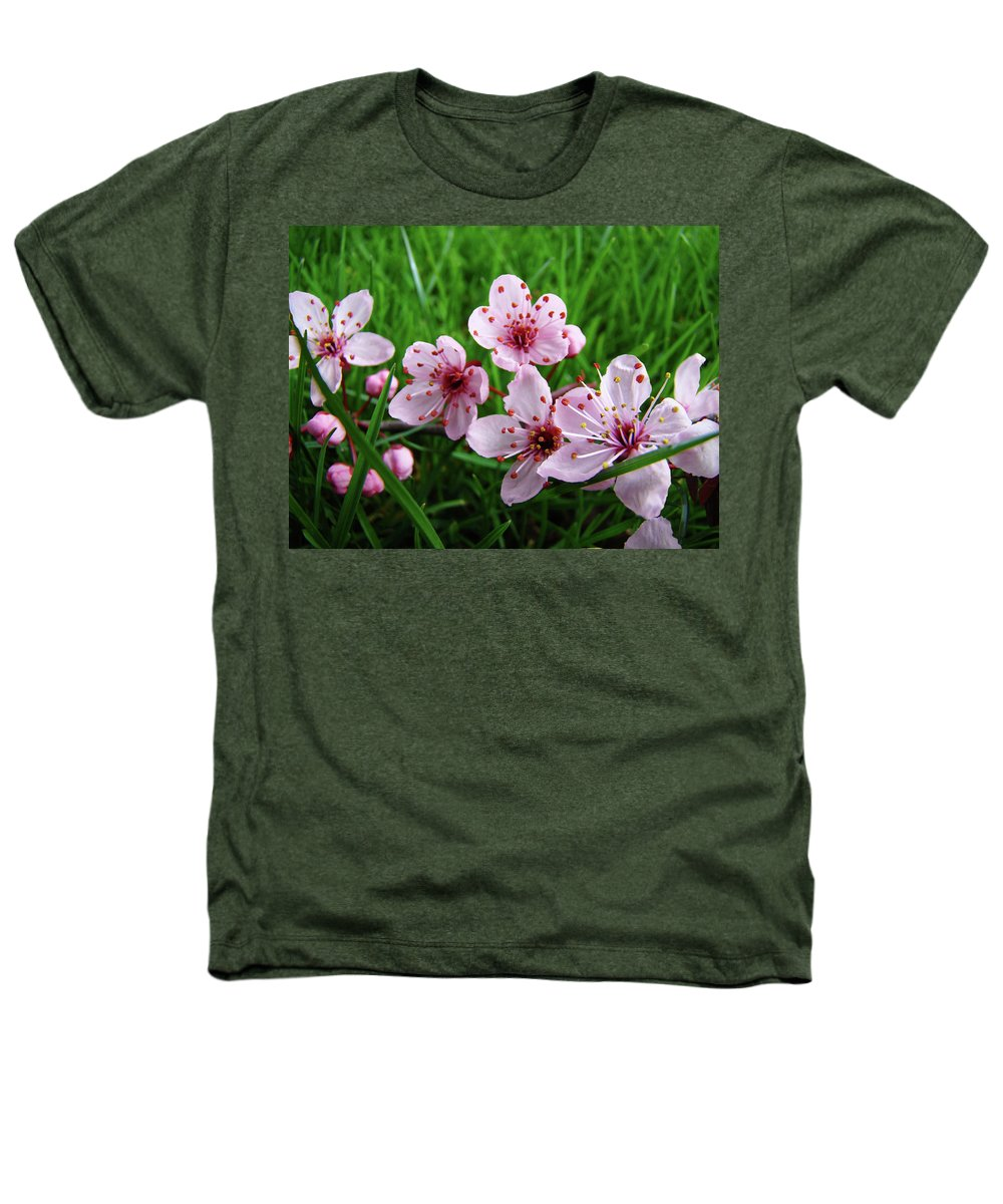 �blossoms Artwork� Heathers T-Shirt featuring the photograph Tree Blossoms 4 Spring Flowers Art Prints Giclee Flower Blossoms by Baslee Troutman