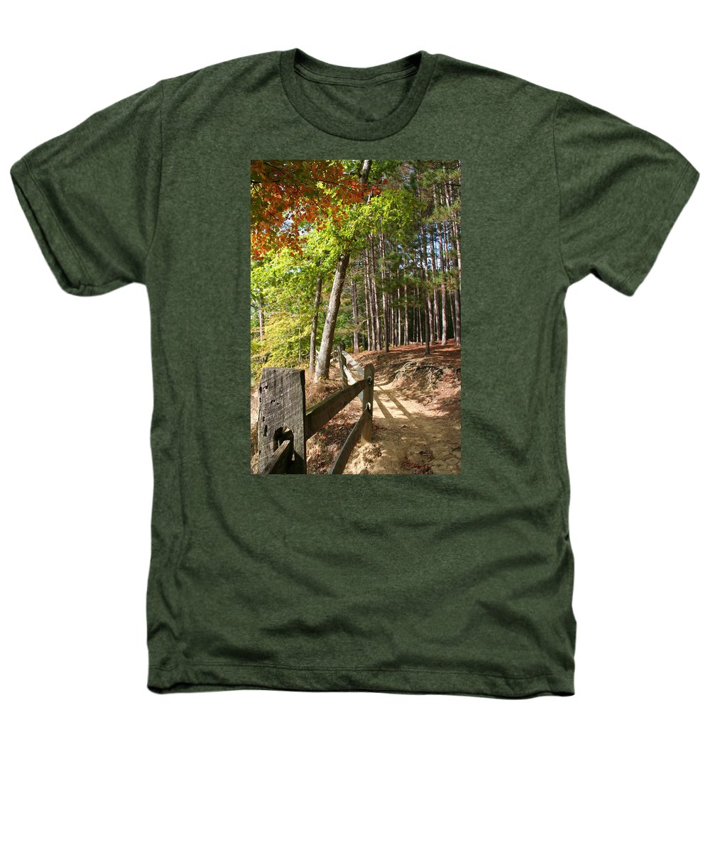 Tree Heathers T-Shirt featuring the photograph Tree Trail by Margie Wildblood