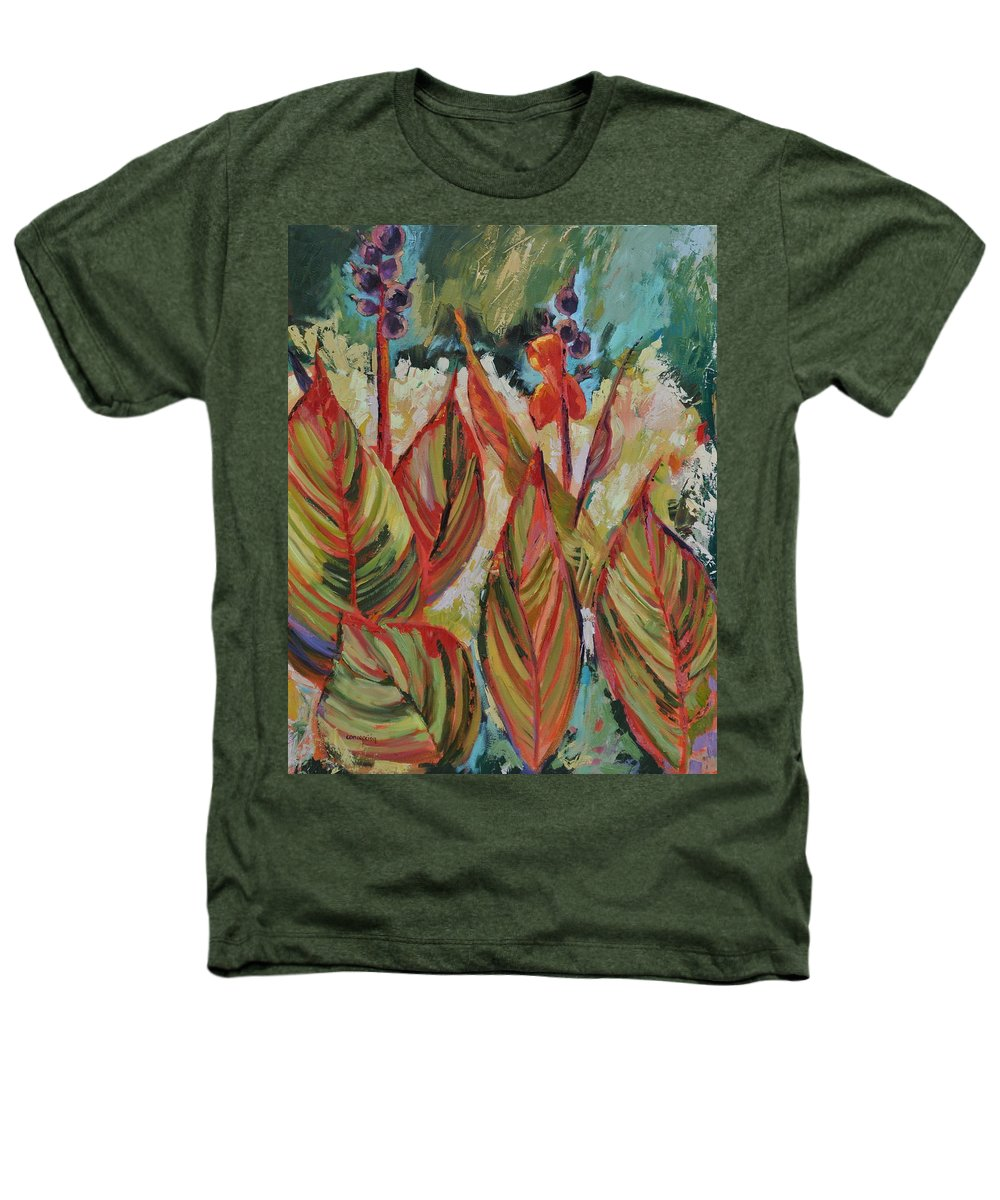 Tropicana Heathers T-Shirt featuring the painting Tropicana by Ginger Concepcion