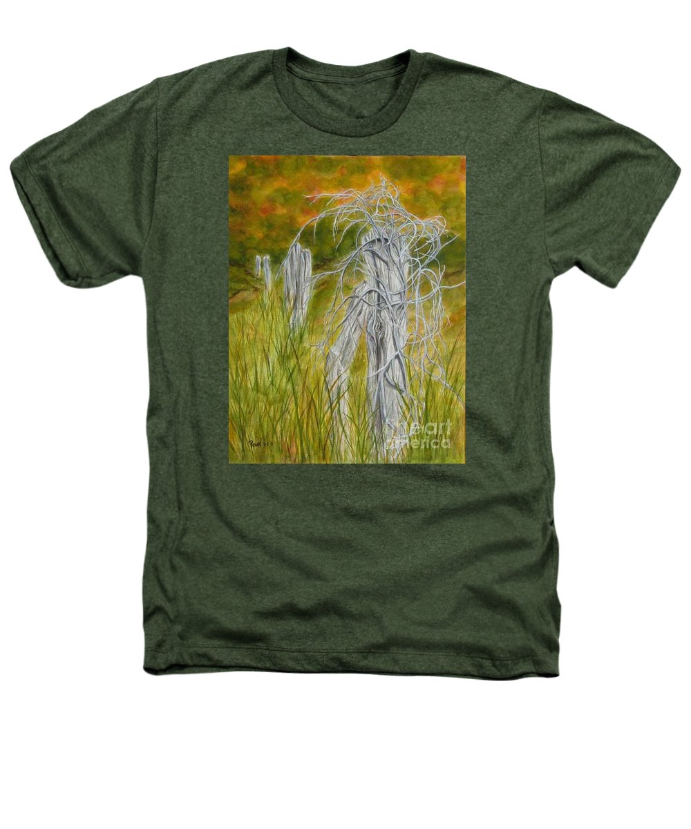 Landscape Heathers T-Shirt featuring the painting Twisted by Regan J Smith