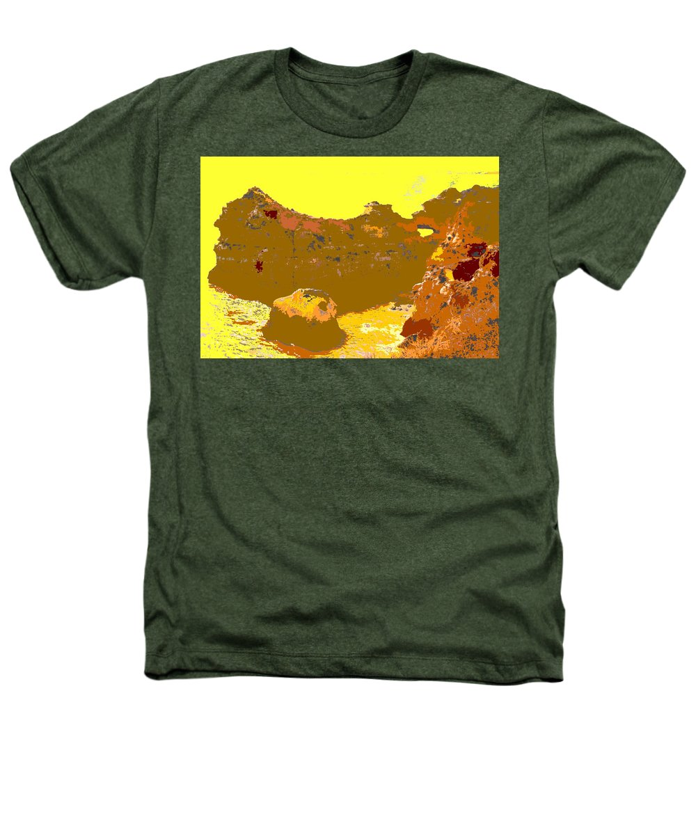 Mediterranean Heathers T-Shirt featuring the photograph Under A Portugese Sun by Ian MacDonald