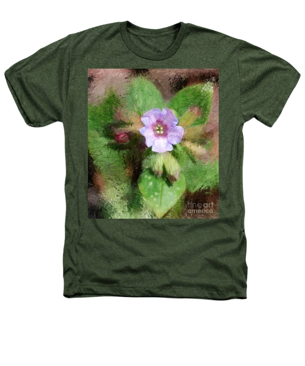 Digital Photo Heathers T-Shirt featuring the photograph Untitled Floral -1 by David Lane