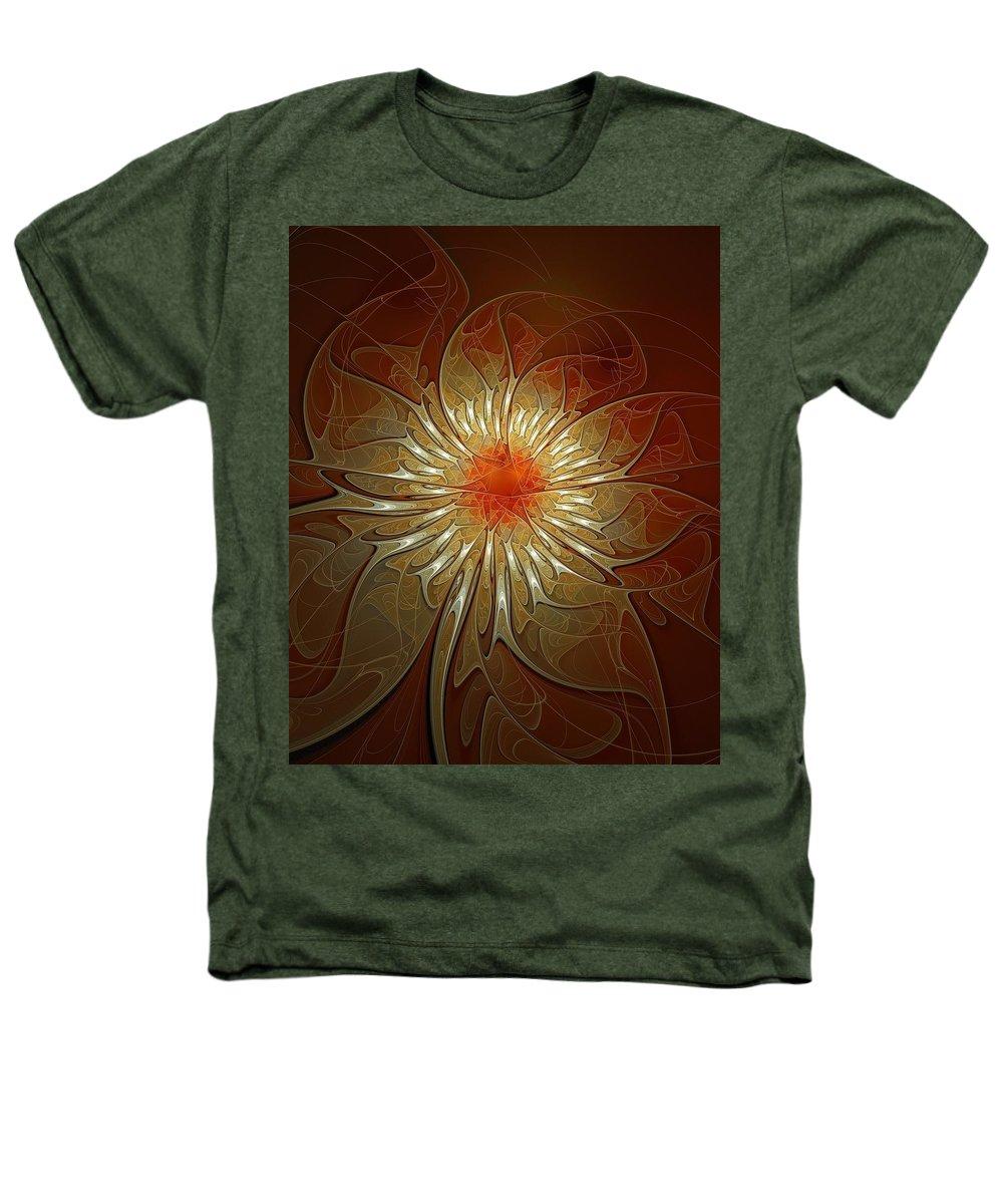 Digital Art Heathers T-Shirt featuring the digital art Vibrance by Amanda Moore