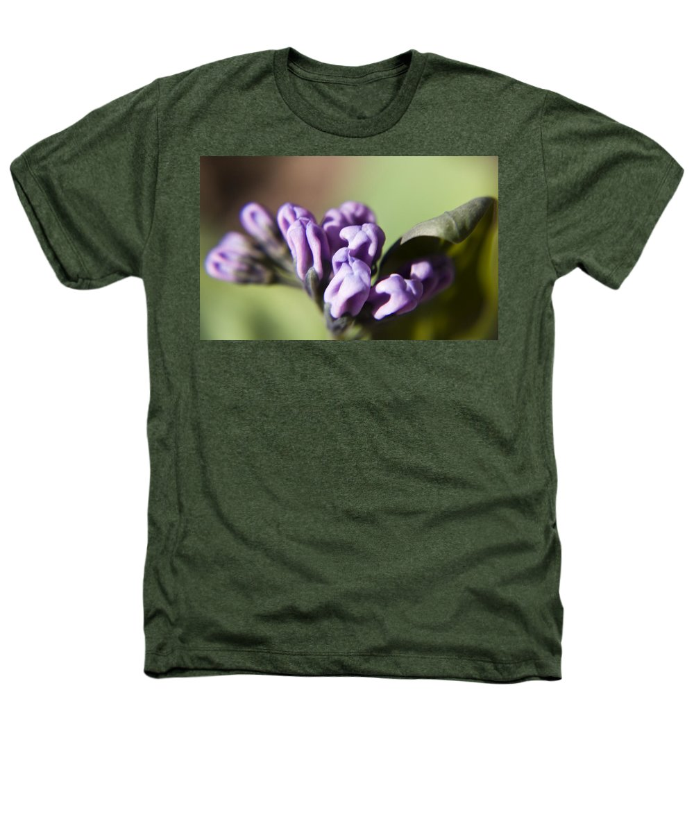 Virginia Heathers T-Shirt featuring the photograph Virginia Bluebell Buds by Teresa Mucha