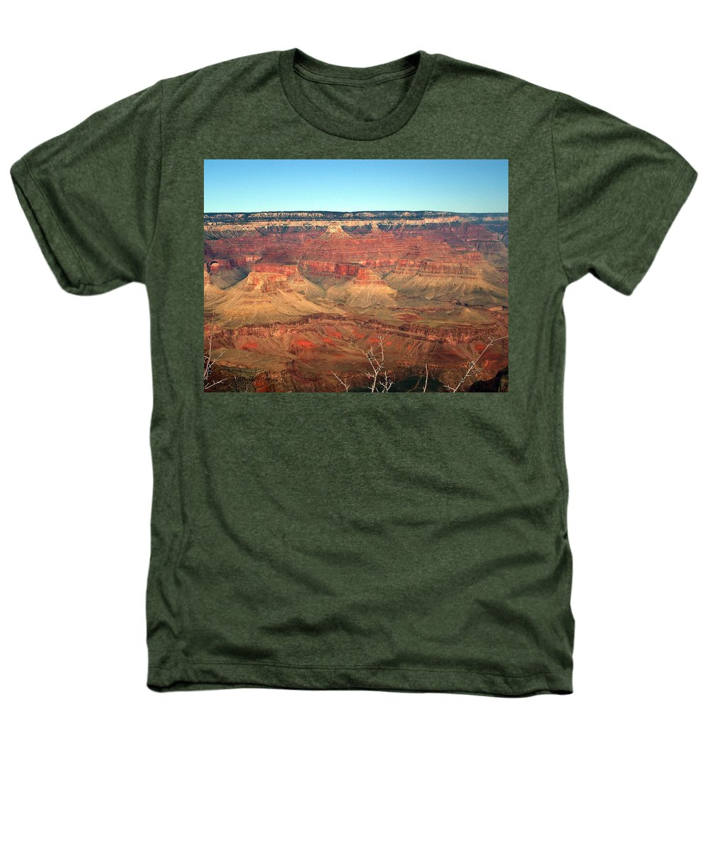 Grand Canyon Heathers T-Shirt featuring the photograph Whata View by Shelley Jones