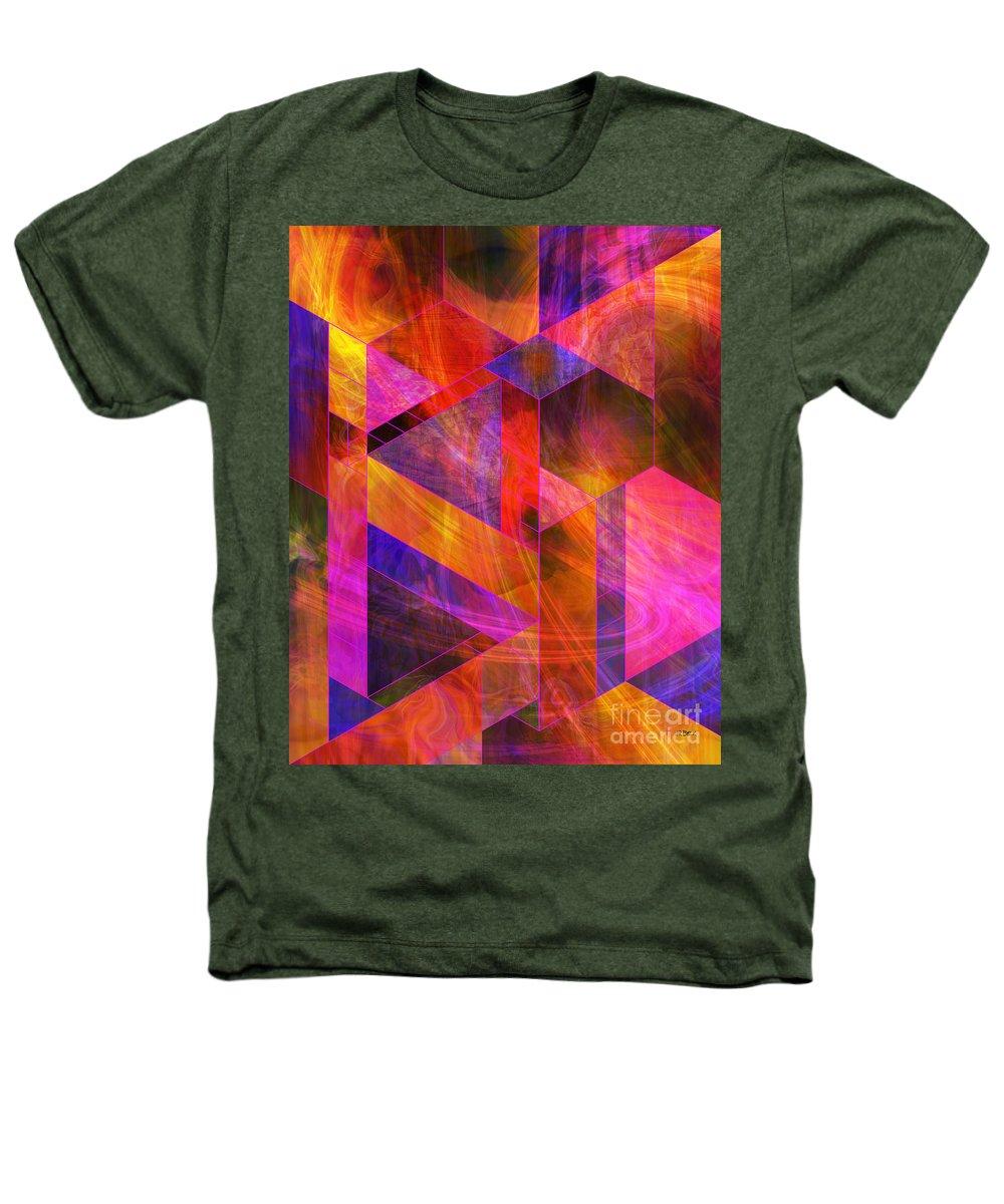 Wild Fire Heathers T-Shirt featuring the digital art Wild Fire by John Beck