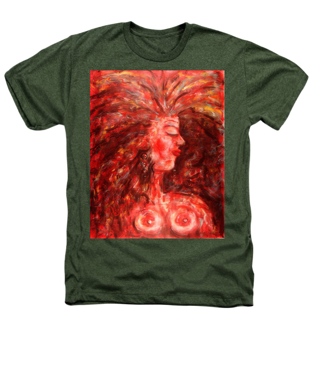 Female Heathers T-Shirt featuring the painting Wild One by Natalie Holland