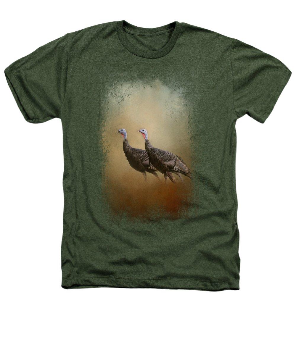 Turkey Heathers T-Shirts