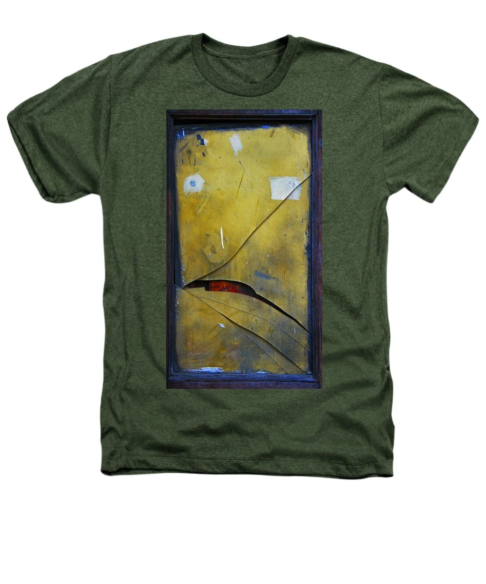 Abstract Heathers T-Shirt featuring the photograph Xalapa Miro by Skip Hunt