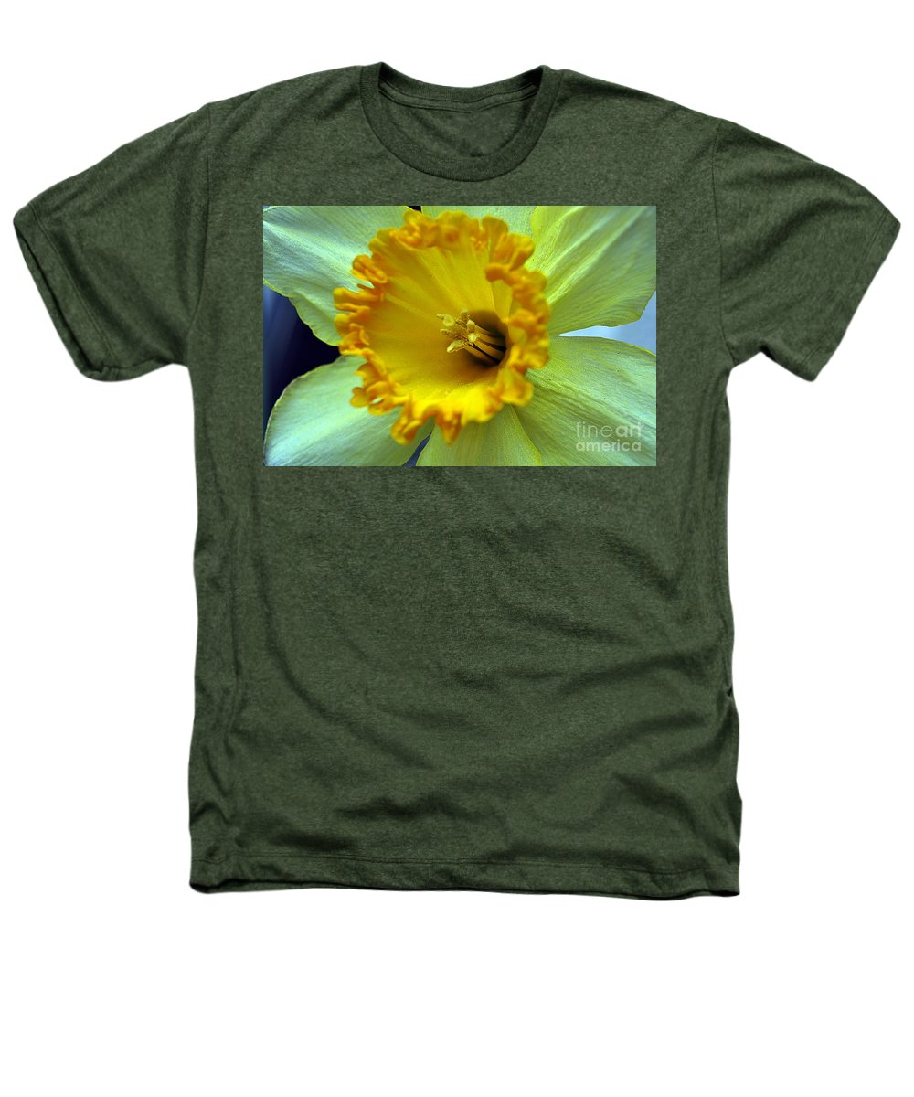 Clay Heathers T-Shirt featuring the photograph Yellow Floral by Clayton Bruster