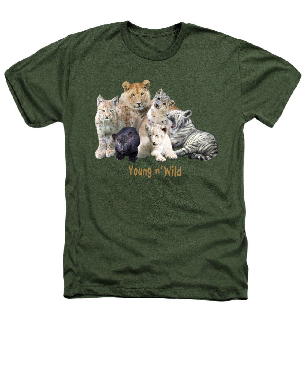 Panther Heathers T-Shirts