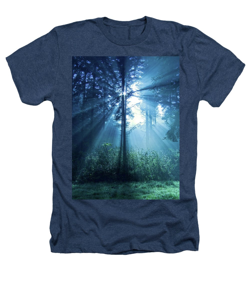 Nature Heathers T-Shirt featuring the photograph Magical Light by Daniel Csoka