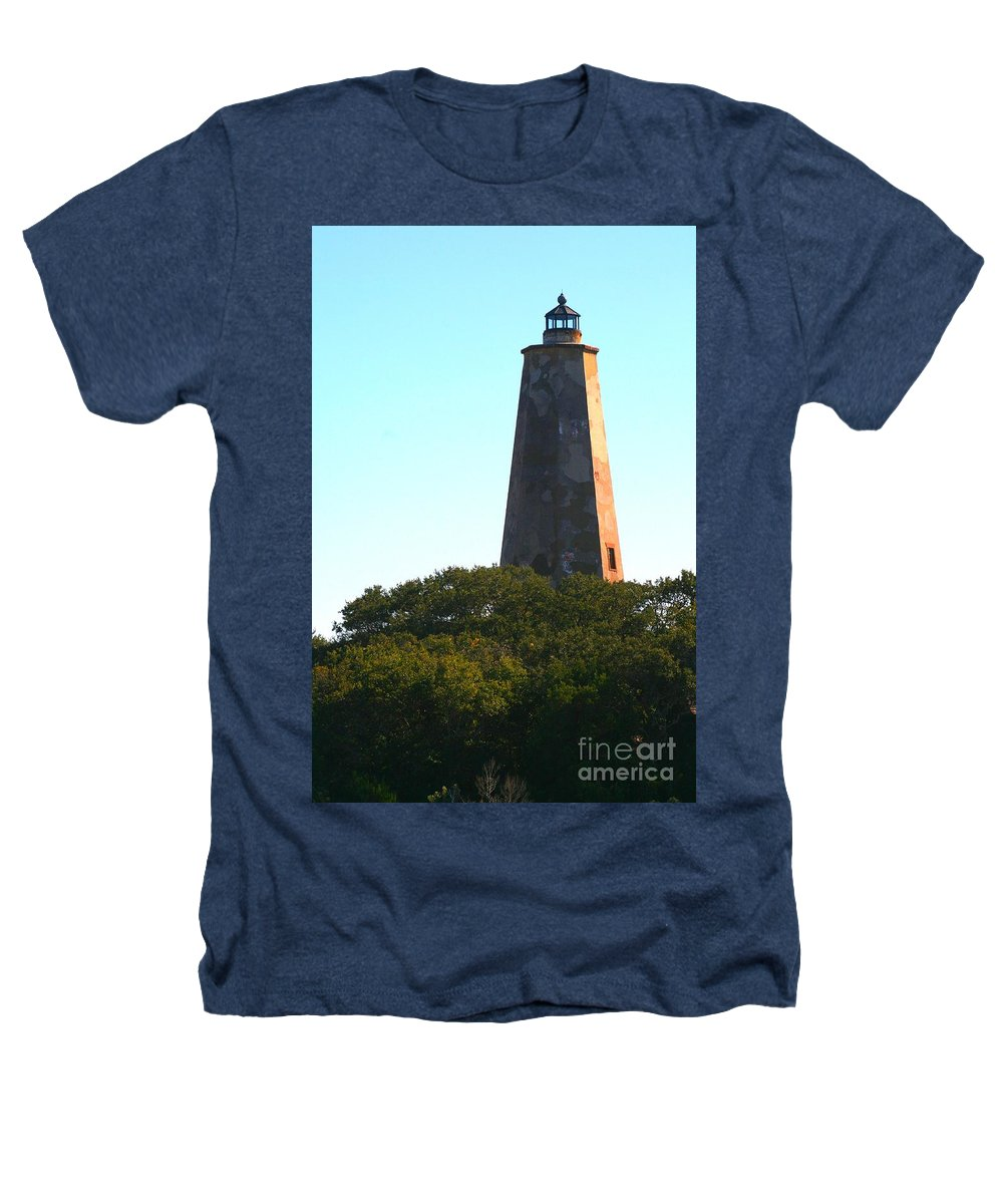 Lighthouse Heathers T-Shirt featuring the photograph The Lighthouse by Nadine Rippelmeyer