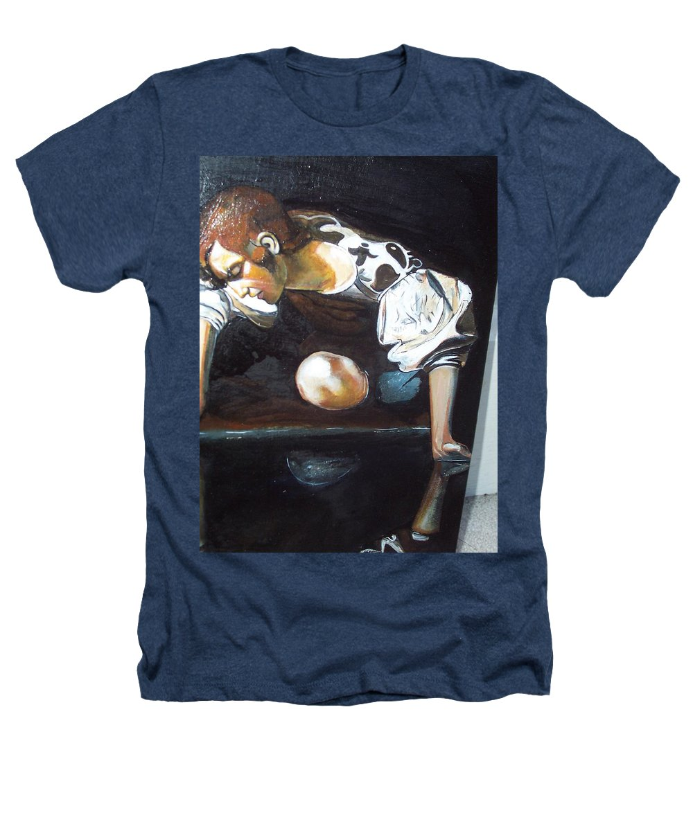 Heathers T-Shirt featuring the painting Detail by Jude Darrien