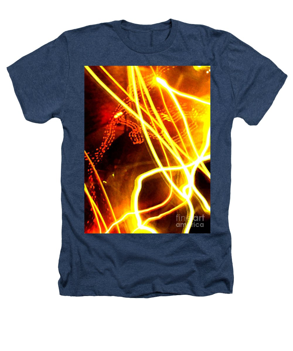 Abstract Heathers T-Shirt featuring the photograph Abstract by Amanda Barcon