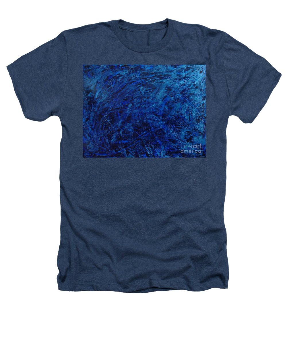 Abstract Heathers T-Shirt featuring the painting Alans Call by Dean Triolo