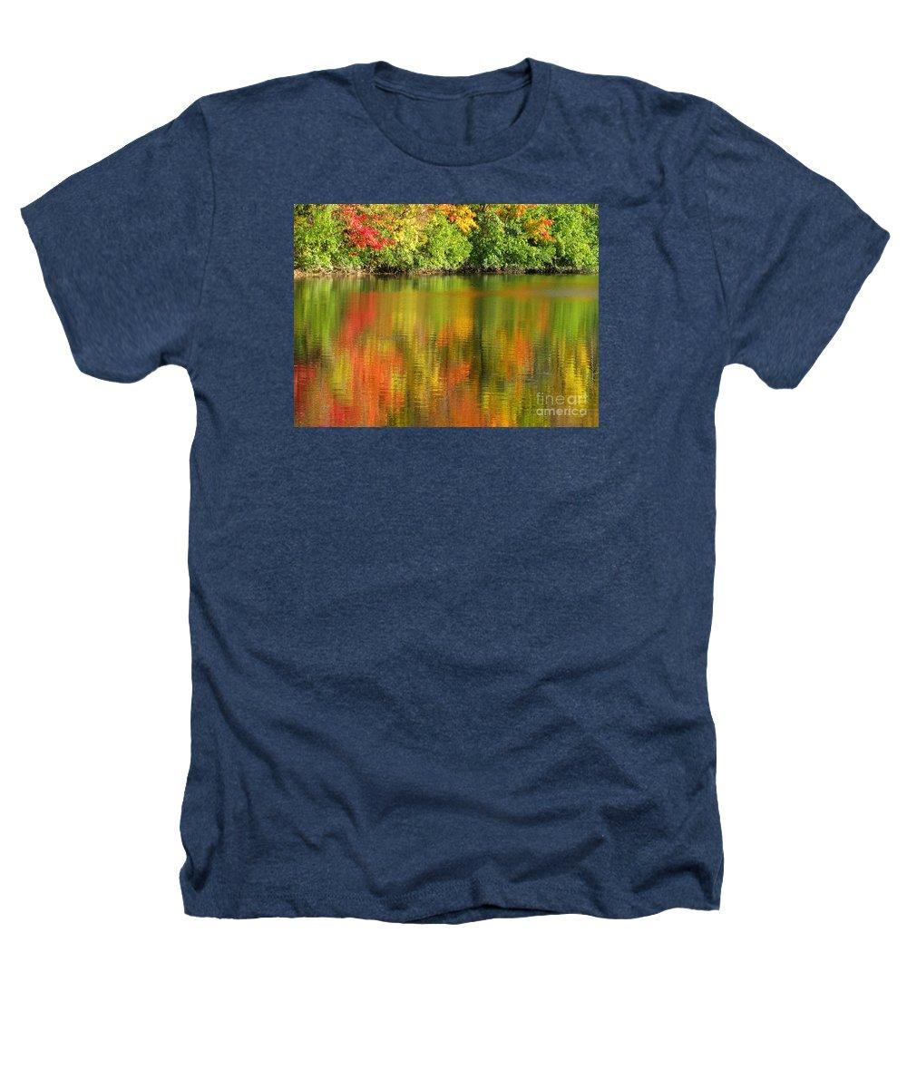 Autumn Heathers T-Shirt featuring the photograph Autumn Brilliance by Ann Horn