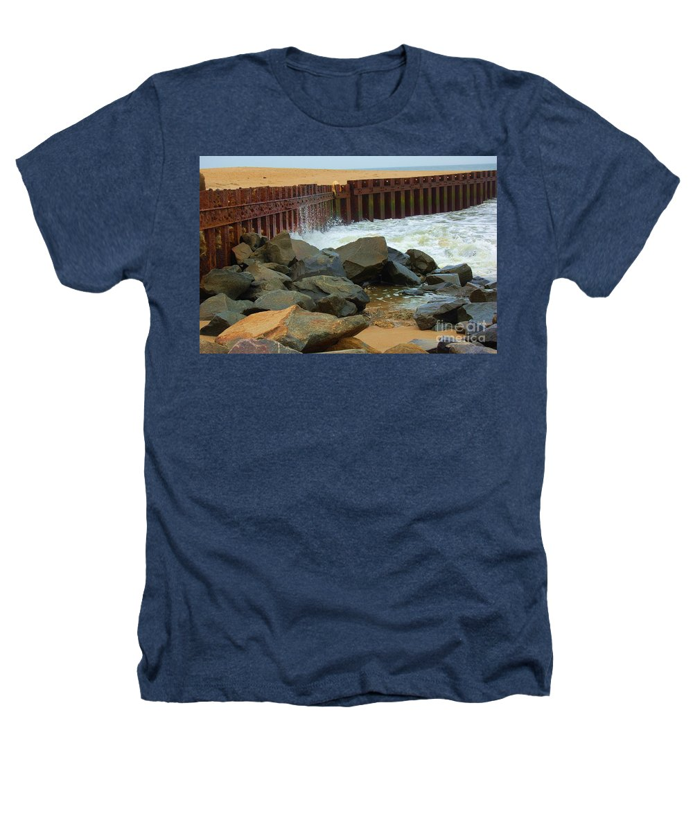 Water Heathers T-Shirt featuring the photograph Coast Of Carolina by Debbi Granruth