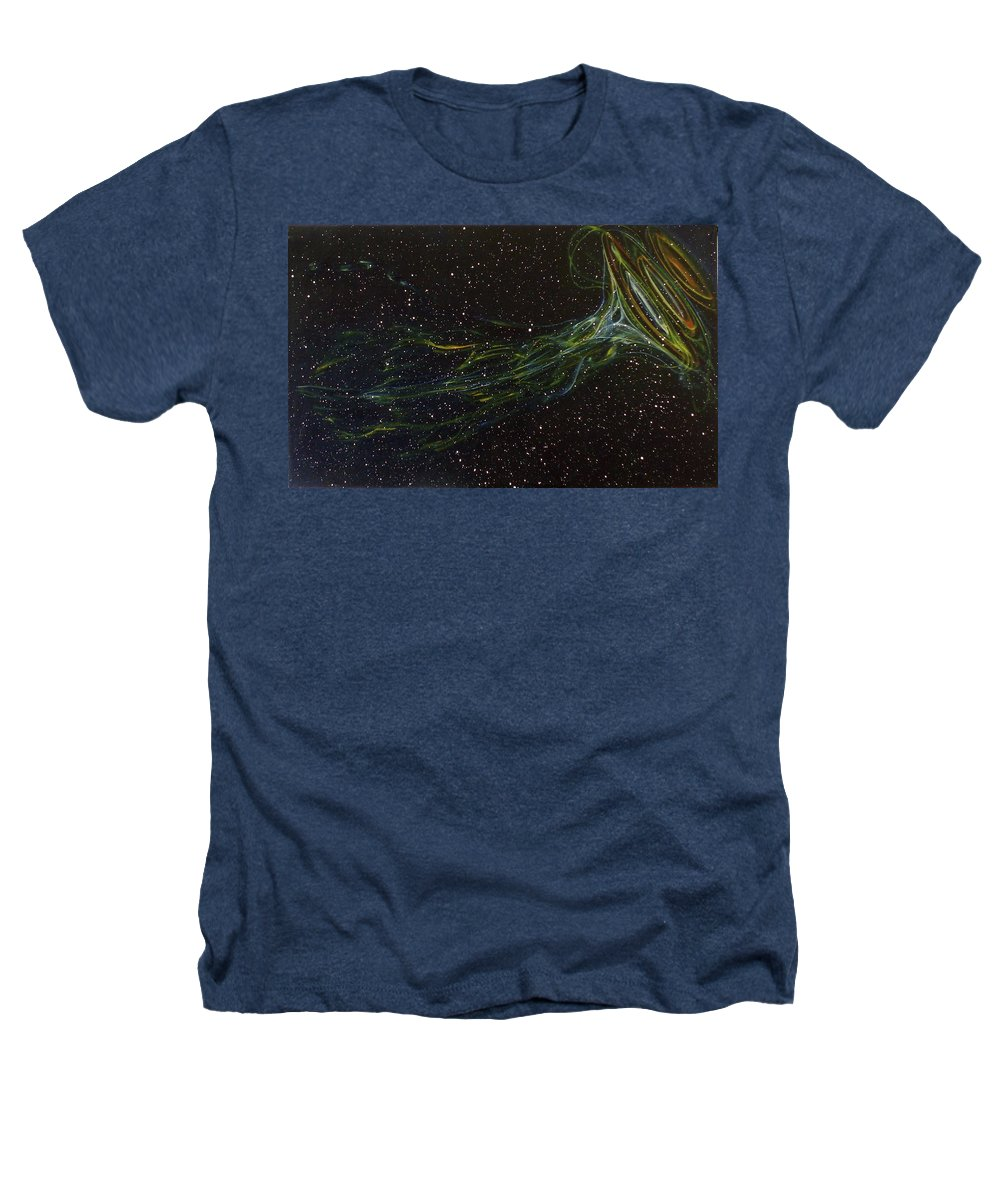 Abstract Heathers T-Shirt featuring the painting Death Throes by Sean Connolly