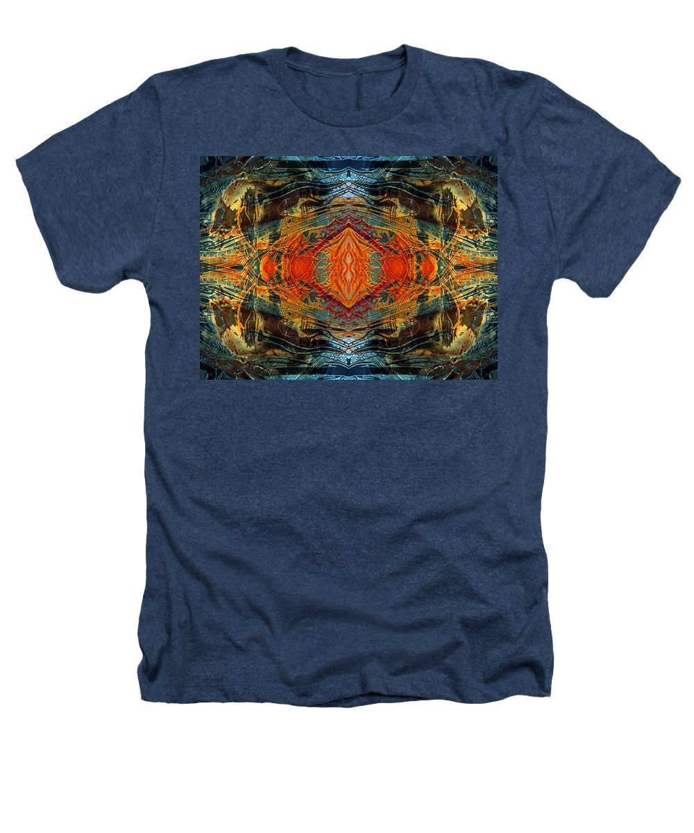 Surrealism Heathers T-Shirt featuring the digital art Decalcomaniac Intersection 2 by Otto Rapp