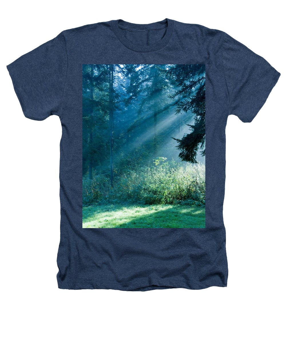 Nature Heathers T-Shirt featuring the photograph Elven Forest by Daniel Csoka