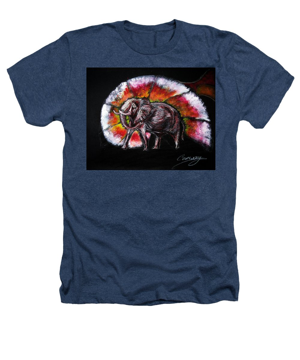 Wild Heathers T-Shirt featuring the drawing Grand Designs For Life On Earth by Tom Conway