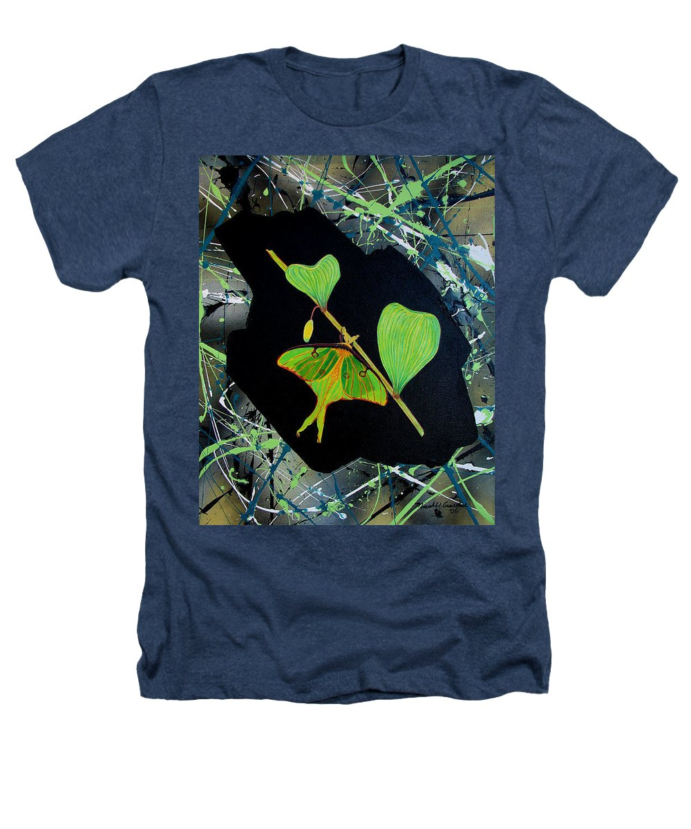 Abstract Heathers T-Shirt featuring the painting Imperfect IIi by Micah Guenther