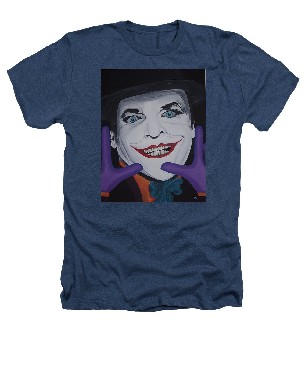 Colorful Heathers T-Shirt featuring the painting Just Jack by Dean Stephens