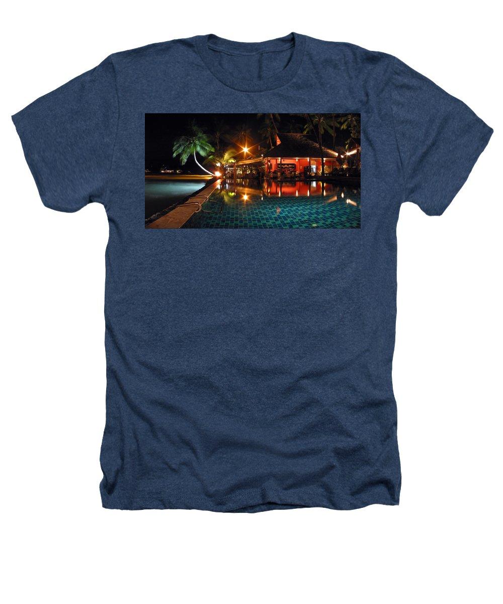 3scape Heathers T-Shirt featuring the photograph Koh Samui Beach Resort by Adam Romanowicz