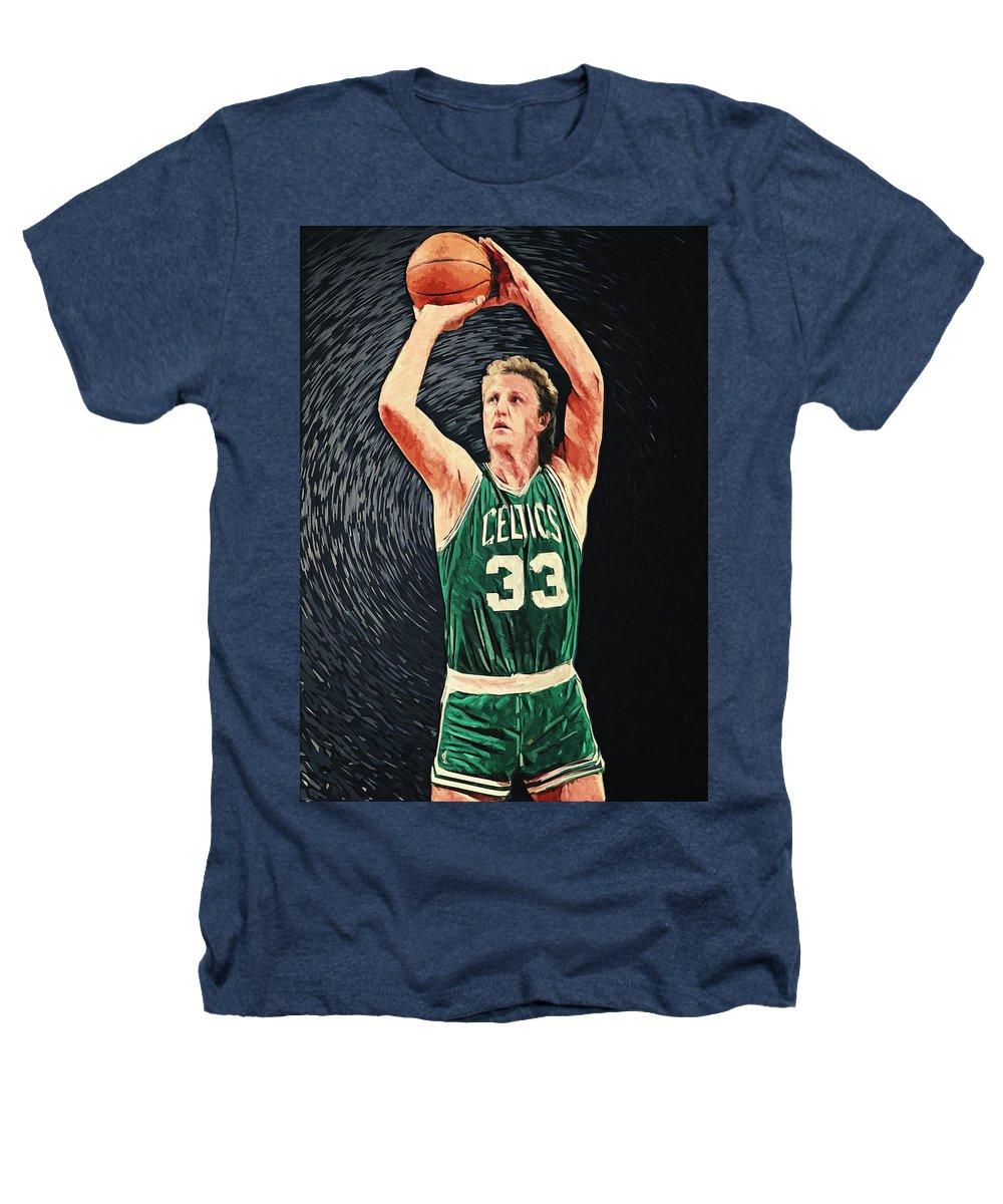 Larry Bird Heathers T-Shirts
