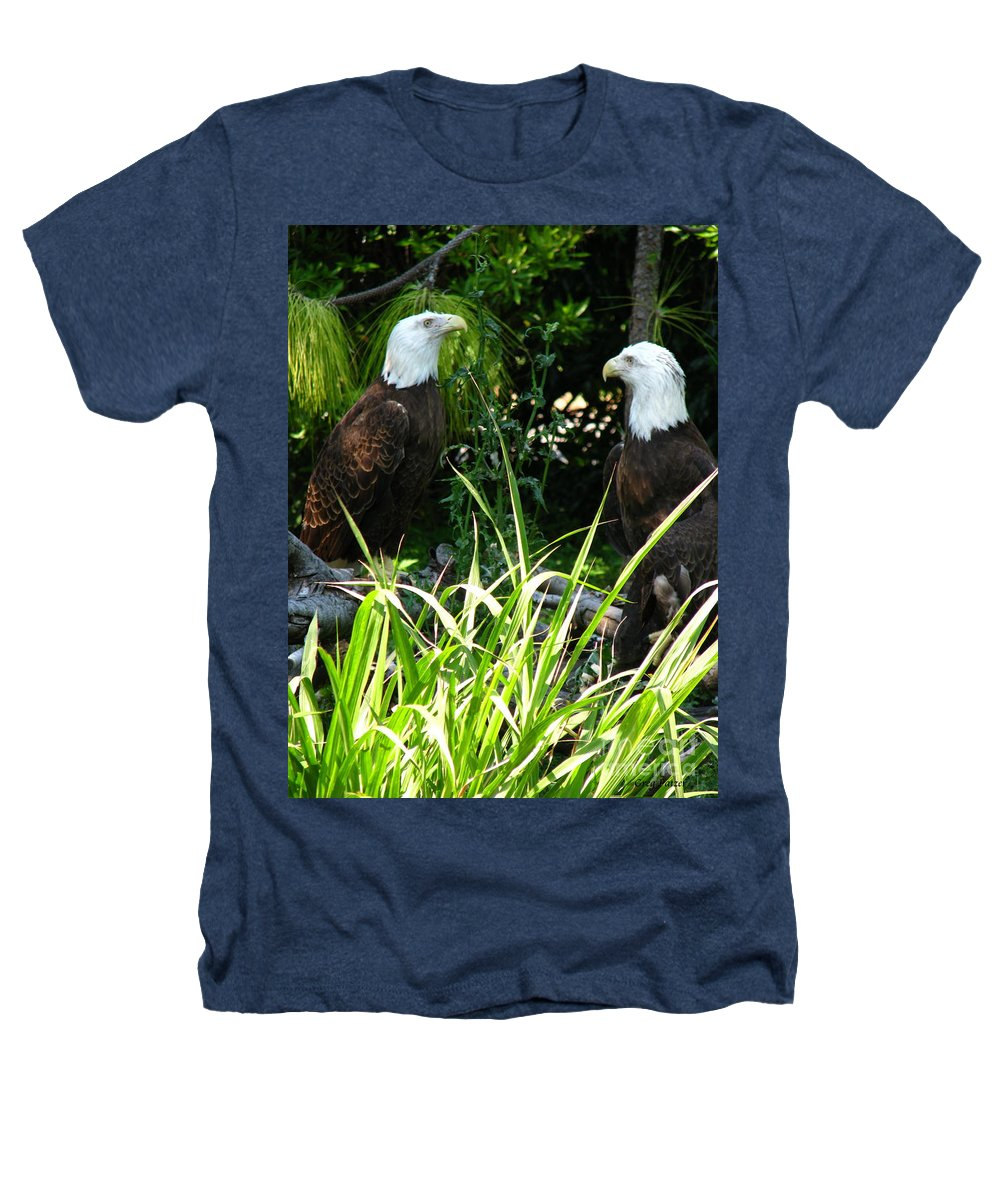 Patzer Heathers T-Shirt featuring the photograph Mates by Greg Patzer