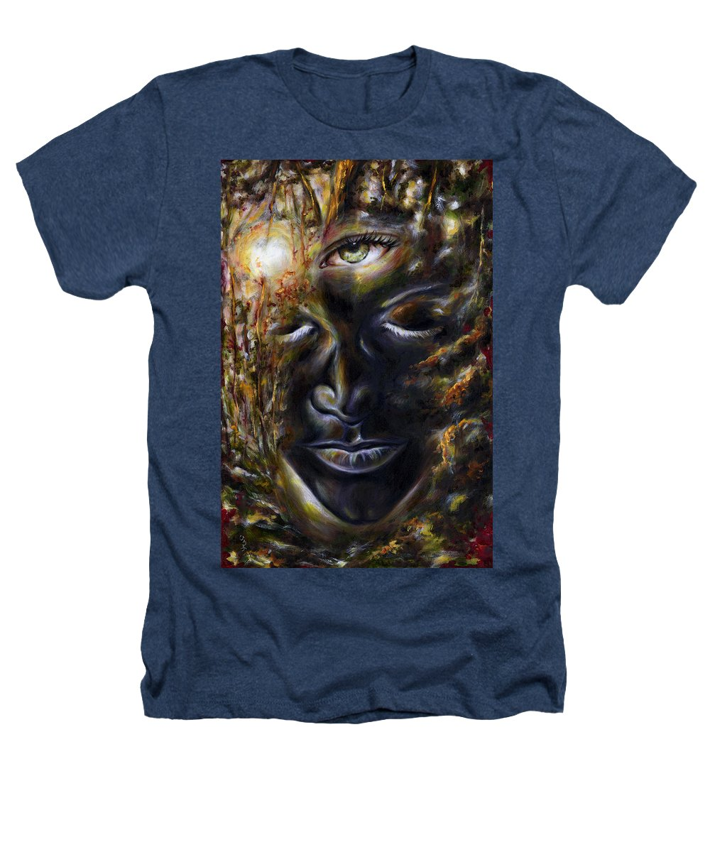 Eye Heathers T-Shirt featuring the painting Revelation by Hiroko Sakai