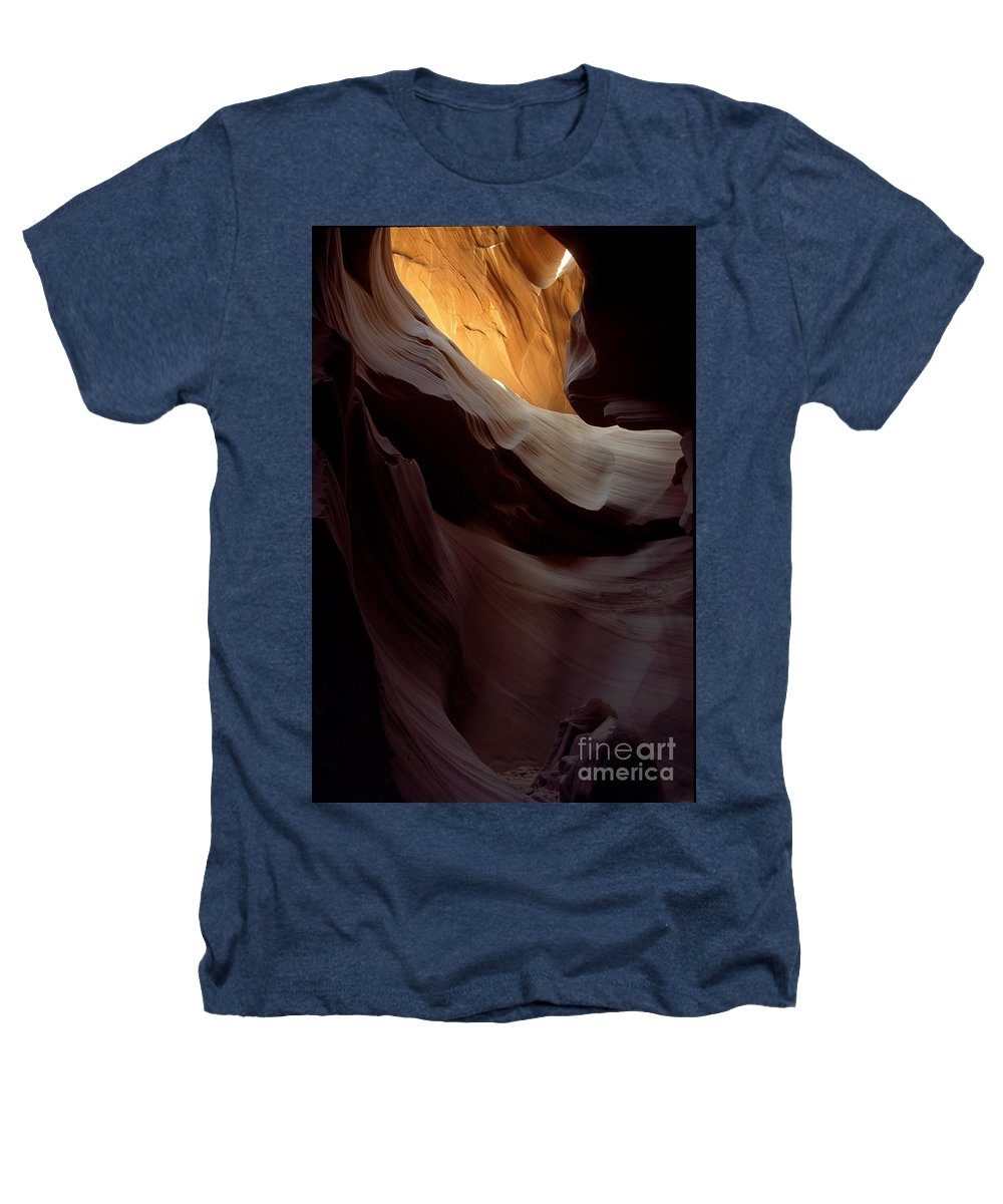 Slot Canyons Heathers T-Shirt featuring the photograph Swopes by Kathy McClure