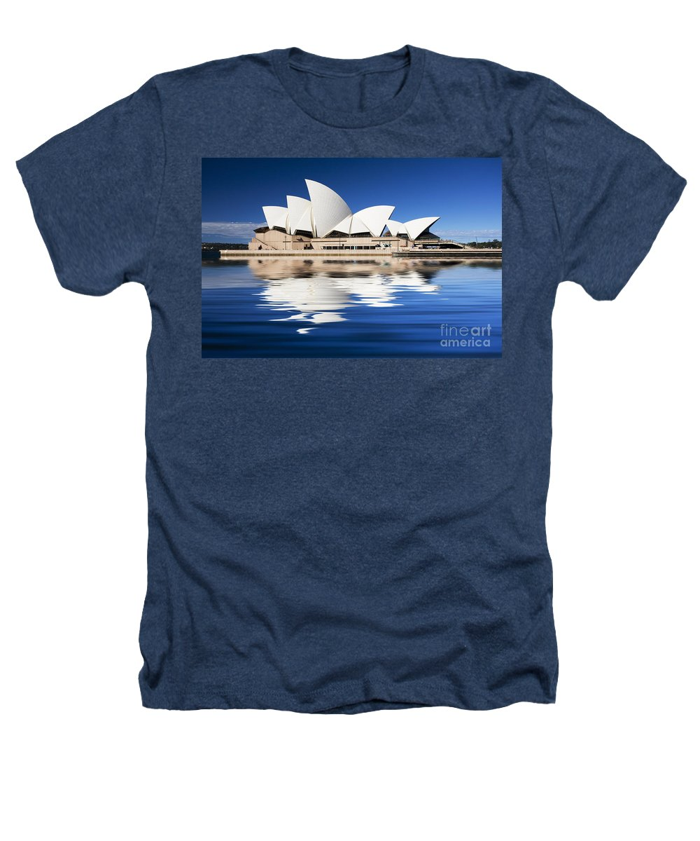 Sydney Opera House Heathers T-Shirt featuring the photograph Sydney Icon by Avalon Fine Art Photography