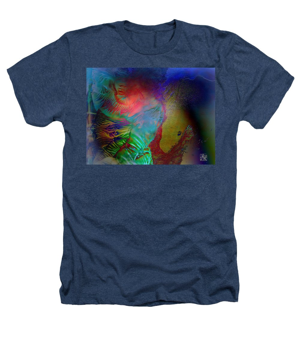 Surrealism Heathers T-Shirt featuring the digital art Topology Of Decalcomania by Otto Rapp