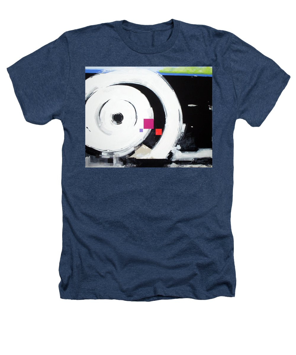 Abstract Heathers T-Shirt featuring the painting Wheel Of Fortune by Jean Pierre Rousselet