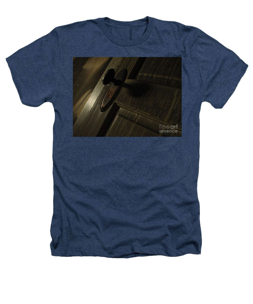 Ghostly Heathers T-Shirt featuring the photograph Burned Knob 02 by Peter Piatt