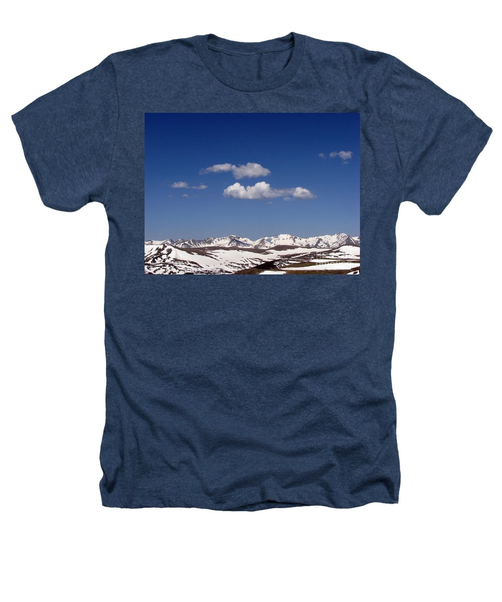 Mountains Heathers T-Shirt featuring the photograph Colorado by Amanda Barcon