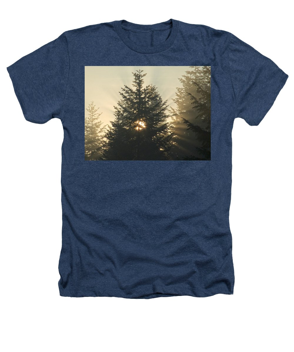 Nature Heathers T-Shirt featuring the photograph Dawn by Daniel Csoka